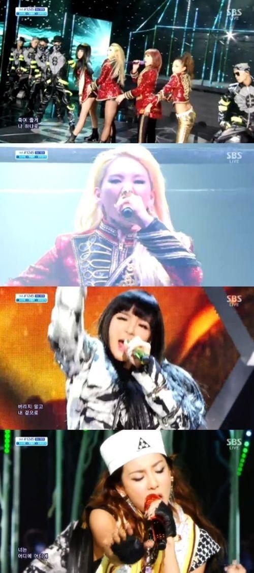 2NE1-첫-컴백-어땠나..섹시-'크러시'-vs-강렬-'컴백홈'