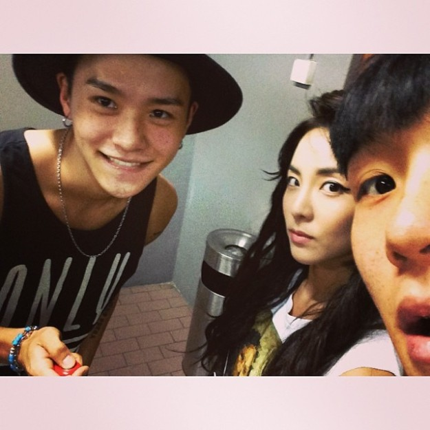 140524_Selfie with deuk & dony