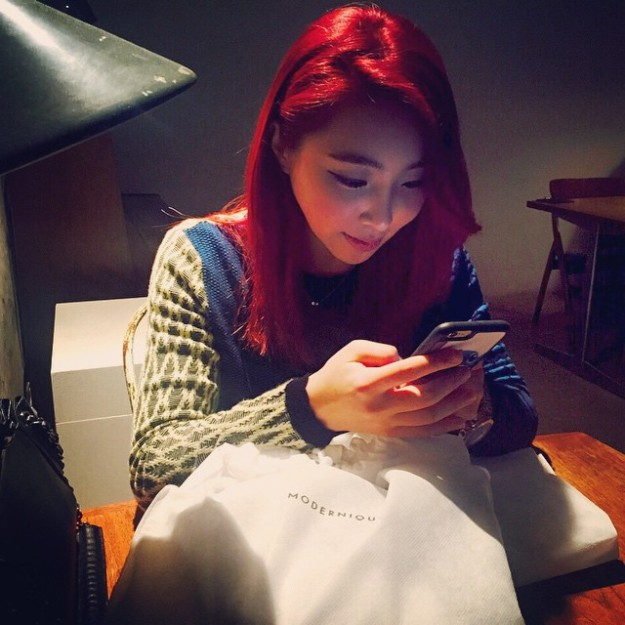 150407_minzy_Yesterday, Finally I met with @lyricaldrawing #modernique @modernique_